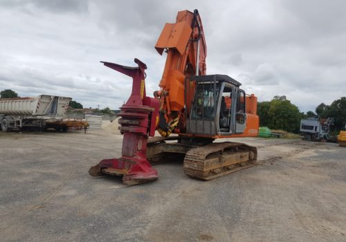 Feller Buncher  HITACHI TX225 Avec QUADCO 22SC