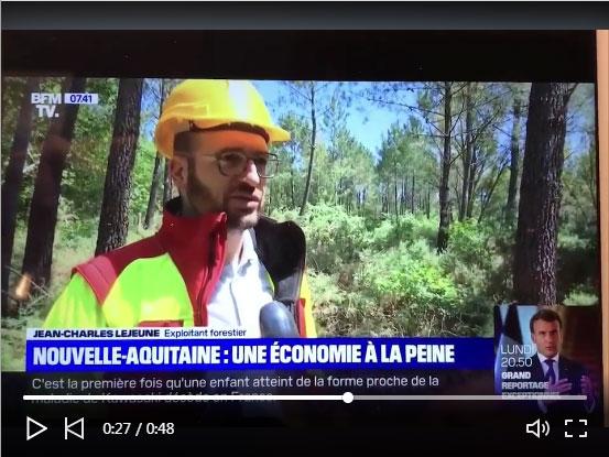 Entretien Avec Notre Client Jean-Charles LEJEUNE Sur La Chaîne De Télévision Française BFMTV.